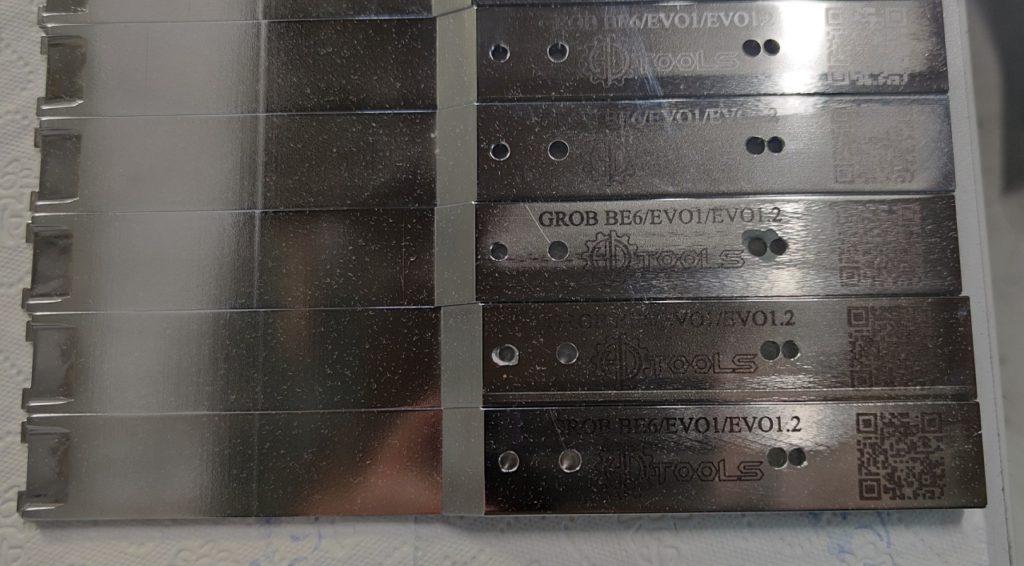 GROB EVO1.0 / EVO1.2 huzalbeültető szerszám külső lap