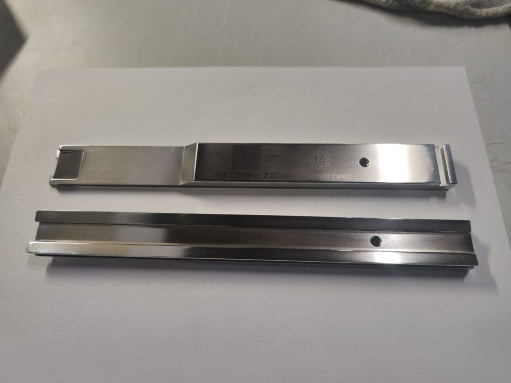 DMG BE6/EVO1/EVO1.2 huzalbeültető szerszám külső lap