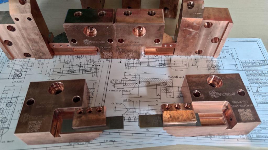 Kompaktáló elektróda tartó szett